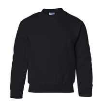 Load image into Gallery viewer, black youth crewneck sweatshirt