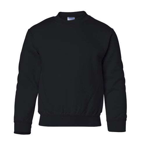 black youth crewneck sweatshirt