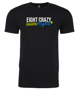black 8 crazy nights men's Hanukkah t shirt