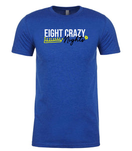 blue 8 crazy nights men's Hanukkah t shirt