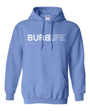 Load image into Gallery viewer, blue burb life pullover hoodie