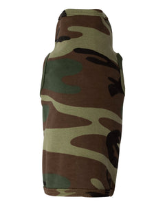 camouflage doggie skins dog tank top