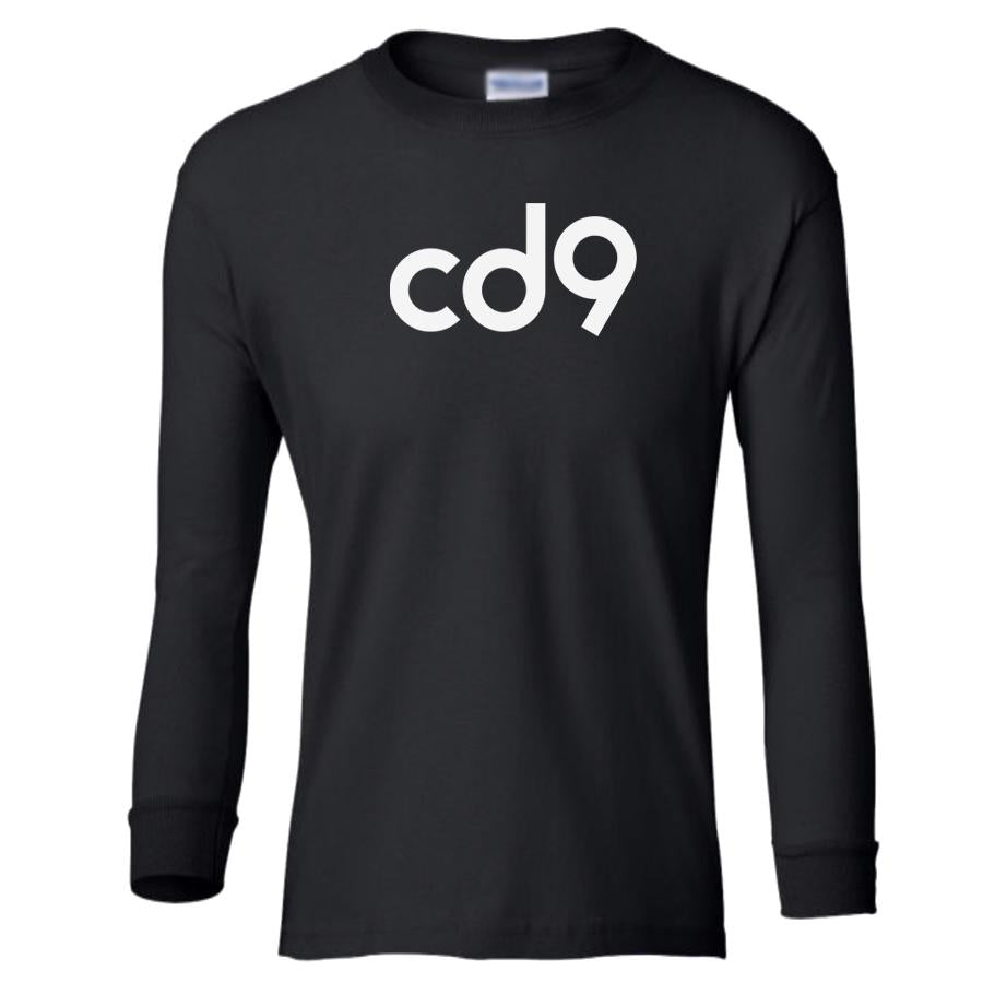 black CD9 youth long sleeve t shirt for girls