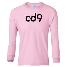 Load image into Gallery viewer, pink CD9 youth long sleeve t shirt for girls