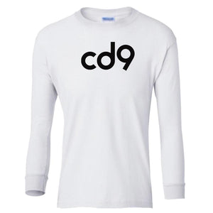 white CD9 youth long sleeve t shirt for girls