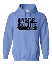 Load image into Gallery viewer, blue Charlotte born and bred hoodie