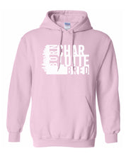 Load image into Gallery viewer, pink Charlotte born and bred hoodie