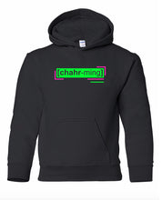 Load image into Gallery viewer, florescent green charming youth kids neon streetwear hooded sweatshirt