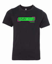 Load image into Gallery viewer, florescent green charming neon streetwear t shirt for kids