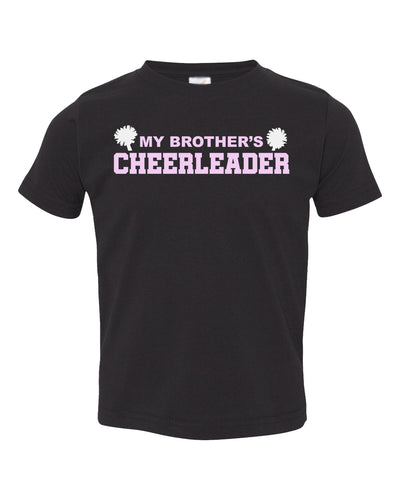 my brother's cheerleader toddler t-shirt