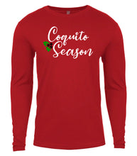 Load image into Gallery viewer, red coquito season Christmas shirt for Men