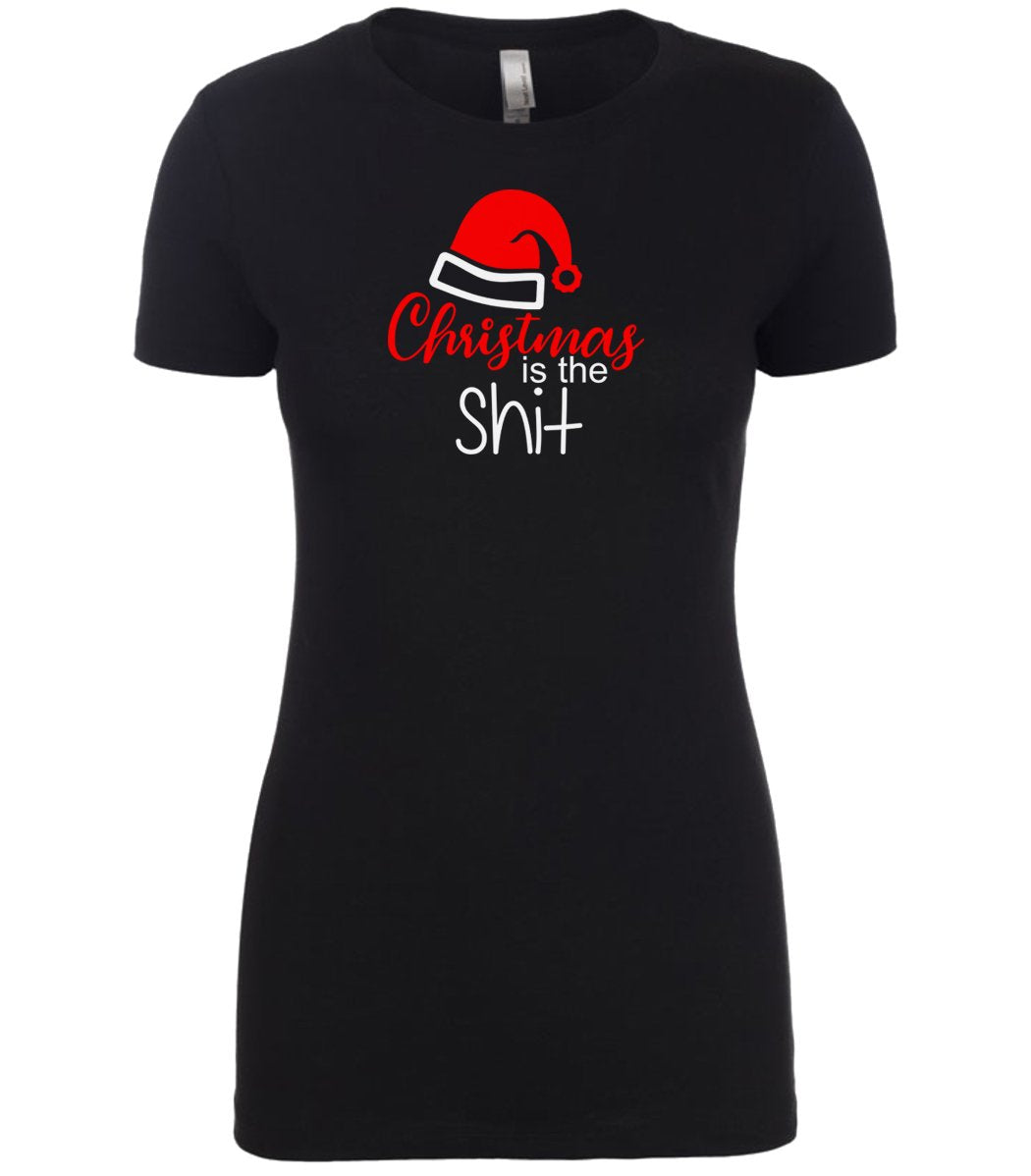 black Christmas is the Shit T Shirt for Women