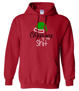 red Christmas is the shit hooded sweatshirt