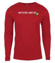 Load image into Gallery viewer, red mistletoe master Christmas shirt for Men