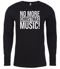 Load image into Gallery viewer, black Christmas music shirt for Men
