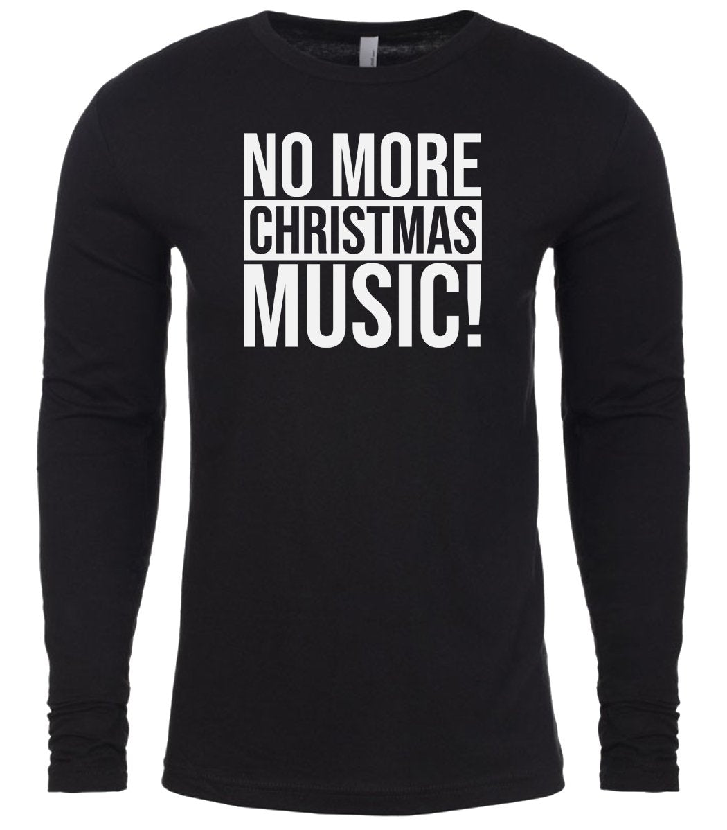 black Christmas music shirt for Men