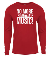 Load image into Gallery viewer, red Christmas music shirt for Men
