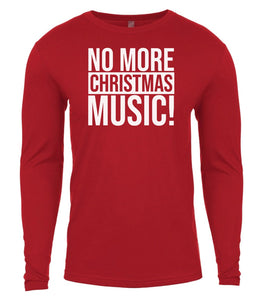 red Christmas music shirt for Men