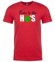 Load image into Gallery viewer, red ode to ho's t shirt for men
