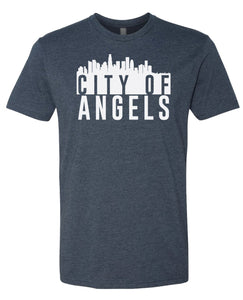navy city of angels t-shirt