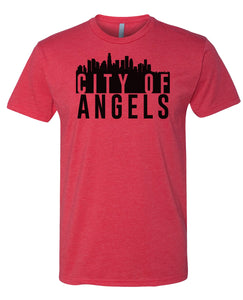 red city of angels t-shirt