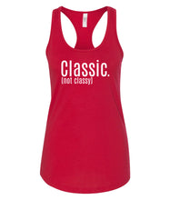 Load image into Gallery viewer, red classic racerback tank top
