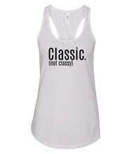 Load image into Gallery viewer, white classic racerback tank top