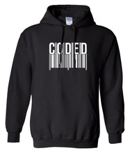 Load image into Gallery viewer, black coded hoodie