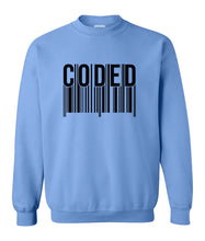 Load image into Gallery viewer, Carolina coded sweatshirt