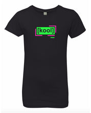 Load image into Gallery viewer, florescent green cool neon streetwear t shirt for girls