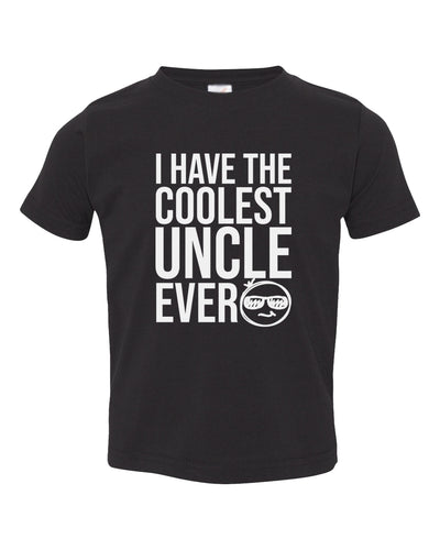 i have the coolest uncle ever toddler t-shirt