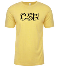 Load image into Gallery viewer, yellow csb mens crewneck t shirt