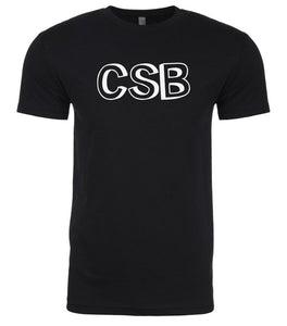 black csb mens crewneck t shirt