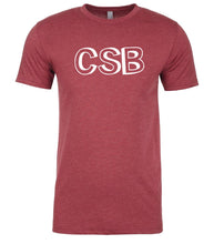 Load image into Gallery viewer, cardinal csb mens crewneck t shirt