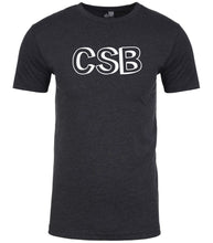 Load image into Gallery viewer, charcoal csb mens crewneck t shirt