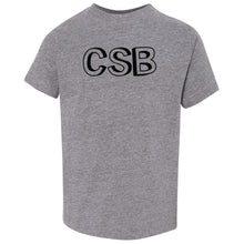 Load image into Gallery viewer, grey CSB crewneck t shirt for toddlers