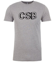Load image into Gallery viewer, grey csb mens crewneck t shirt