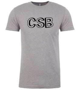 grey csb mens crewneck t shirt