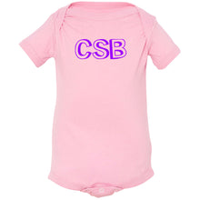 Load image into Gallery viewer, pink CSB onesie for babies