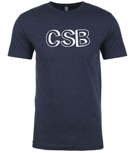 navy csb mens crewneck t shirt