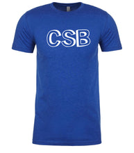 Load image into Gallery viewer, blue csb mens crewneck t shirt
