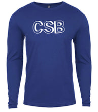 Load image into Gallery viewer, blue csb mens long sleeve shirt