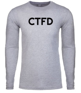 grey ctfd mens long sleeve shirt