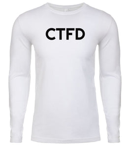 white ctfd mens long sleeve shirt