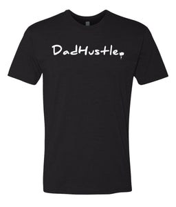 black dad hustle crewneck t shirt