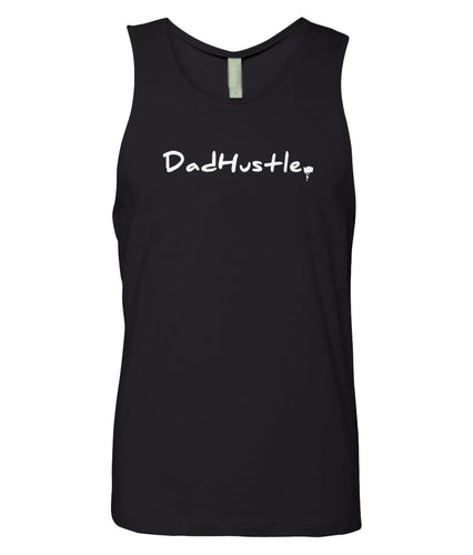 black dad hustle mens tank top