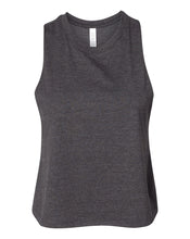 Load image into Gallery viewer, charcoal crop top tank top
