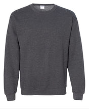 Load image into Gallery viewer, dark grey crewneck sweatshirt
