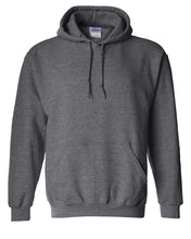 Load image into Gallery viewer, dark heather pullover hoodie