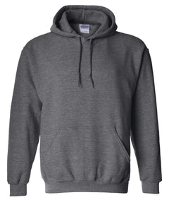 dark heather pullover hoodie